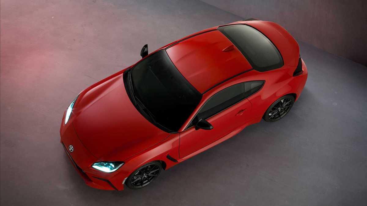 Toyota GR 86 (2022), czerwona