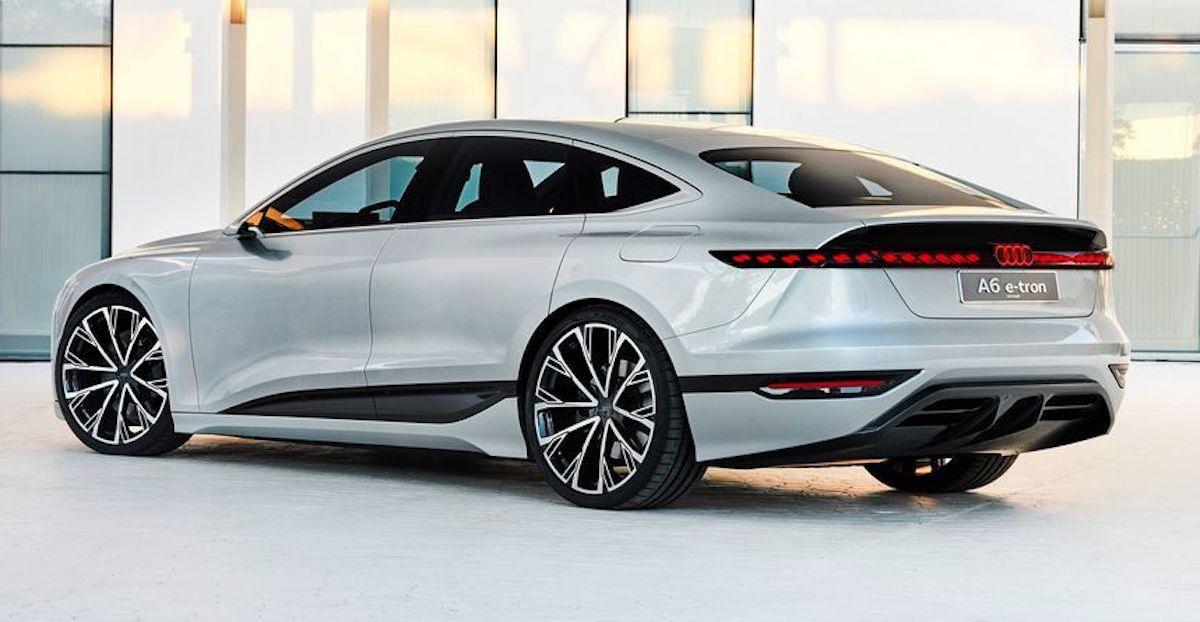 Audi A6 e-tron, tył
