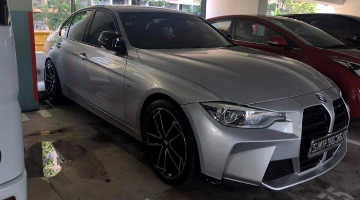 BMW serii 3 (F30) z wielkimi nerkami BMW