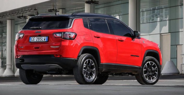 Jeep Compass (2021) lifting