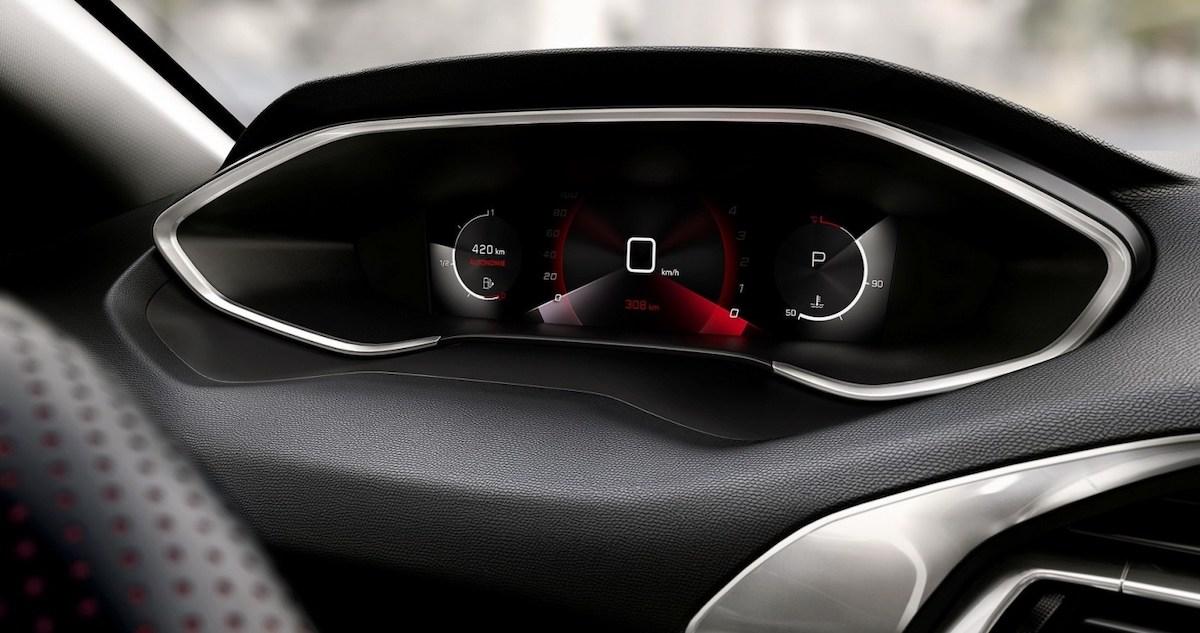 Peugeot 308 (2021) i-Cocpit 3D