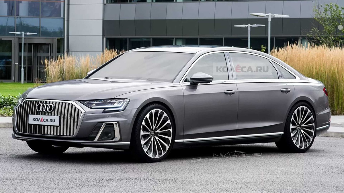 Audi A8 Horch Rendering