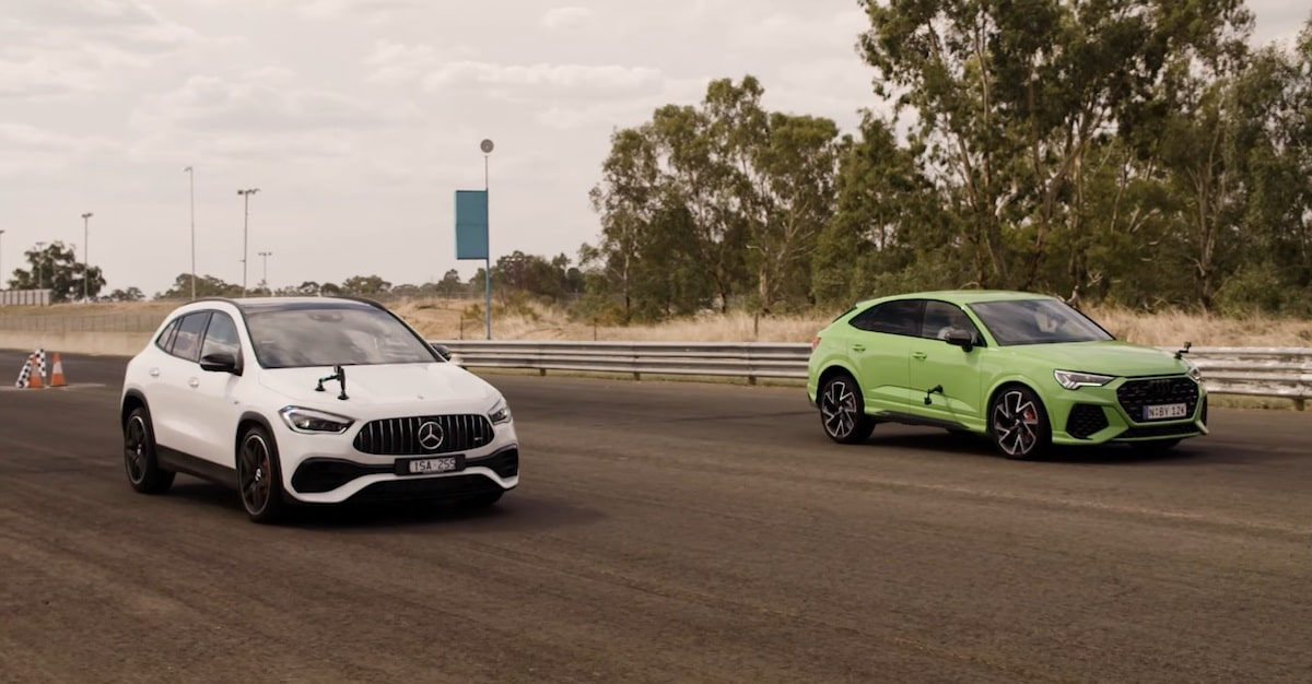 Audi RS Q3 vs. Mercedes-AMG GLA 45 S