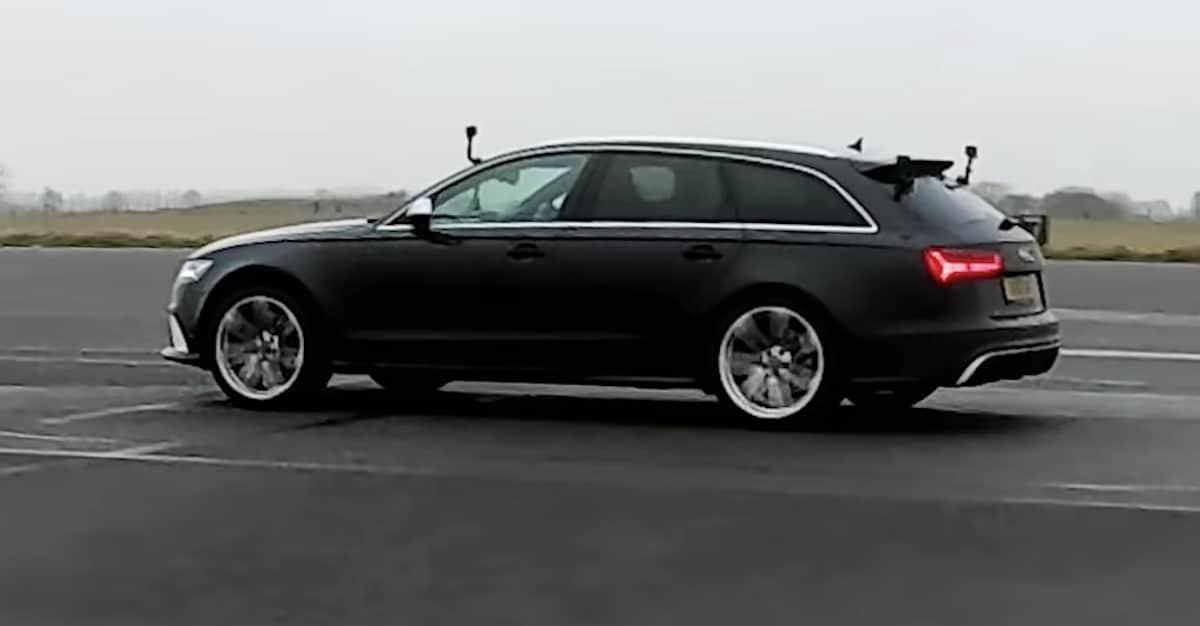 Audi RS6 C7, czarne