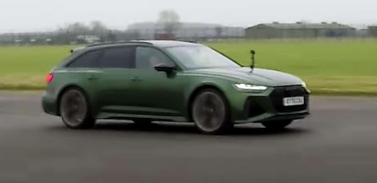 Audi RS6 C8, zielone