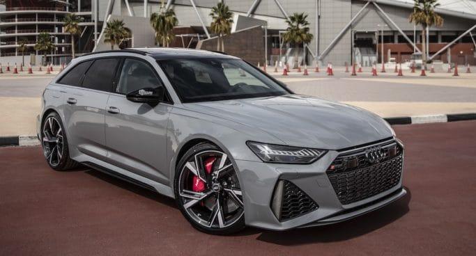 Audi RS6 Nardo Grey