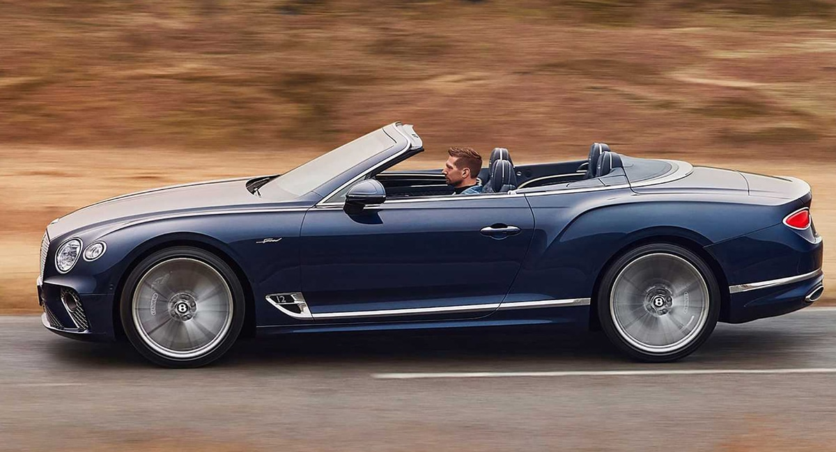 Bentley Continental GT Speed Convertible (2021)