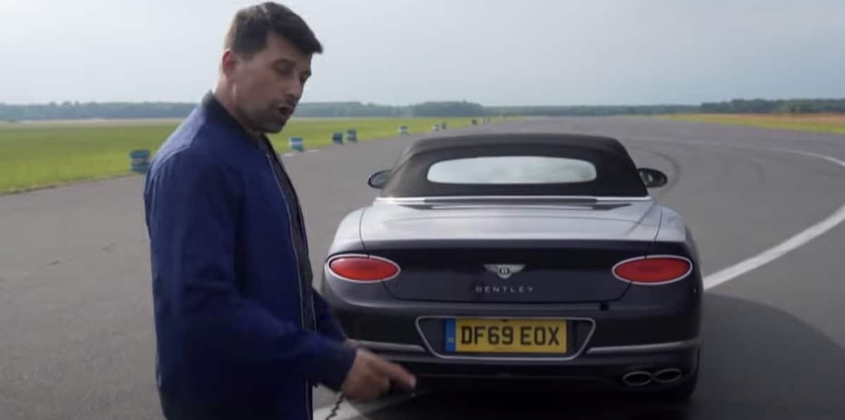 Bentley Continental GT V8 i Patryk Mikiciuk