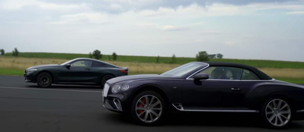 BMW M8 Competition vs. Bentley Continental GT V8