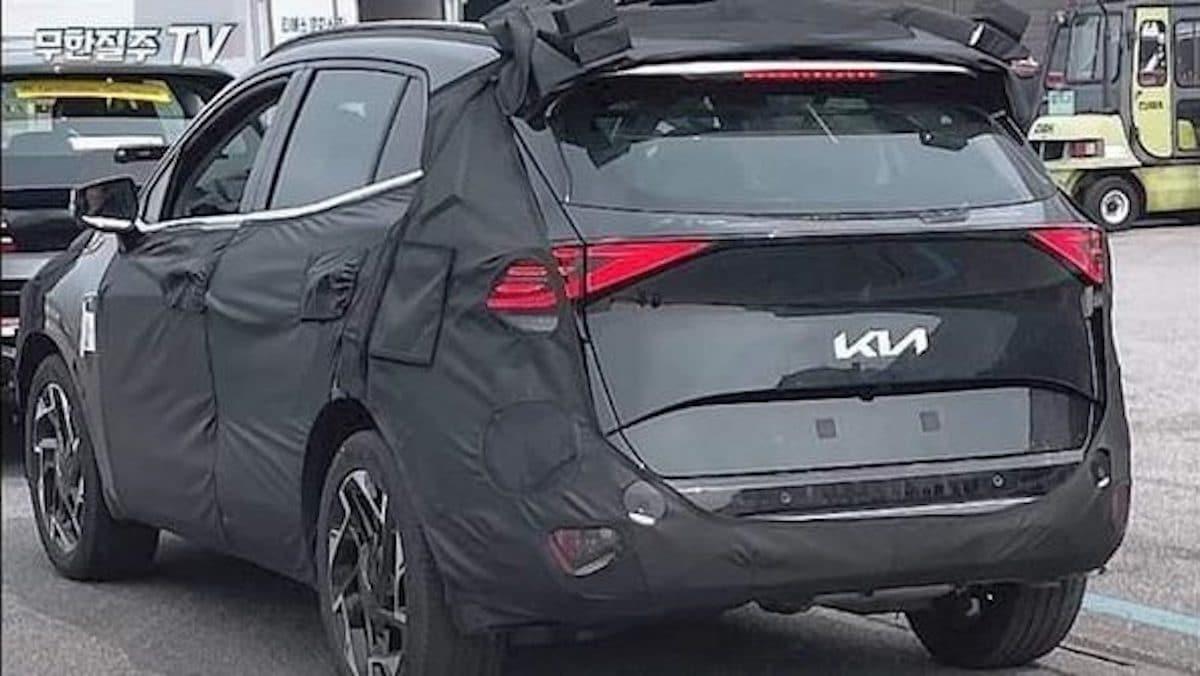 Kia Sportage (2022), prototyp