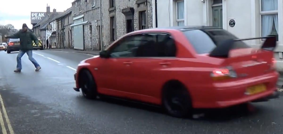 Mitsubishi Lancer Evo, czerwony