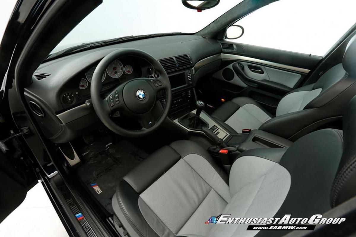 BMW M5 (E39) 2003, wnętrze