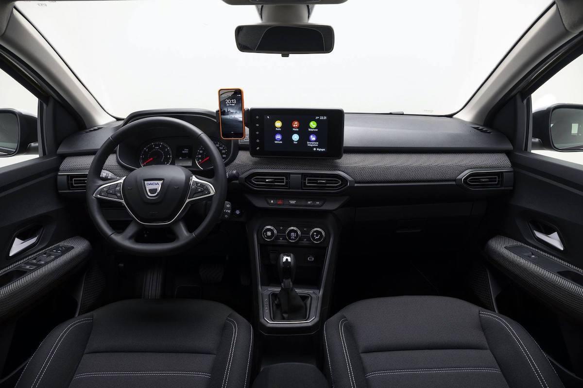 Dacia Logan (2020), wnętrze