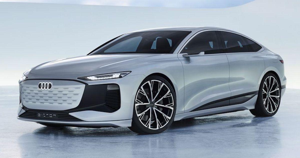 Audi A6 e-tron, przód