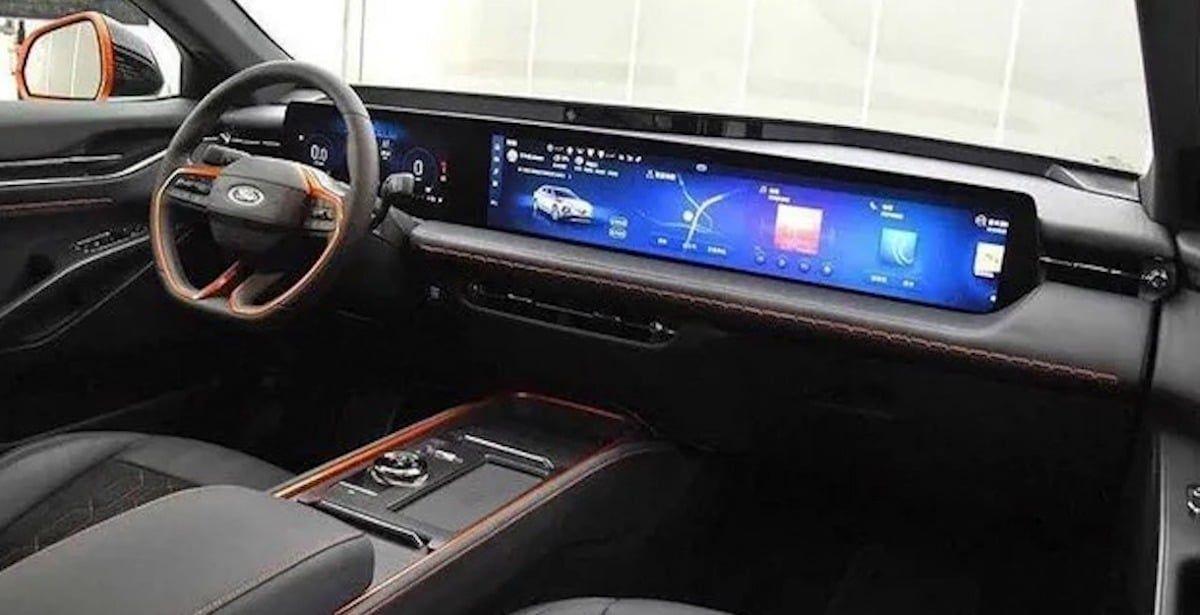 Ford Evos (2021) - wnętrze