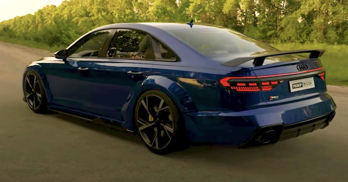 Audi RS8 Concept, Prokop Design