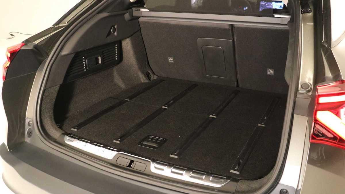 Citroen C5 X (2021) - bagażnik