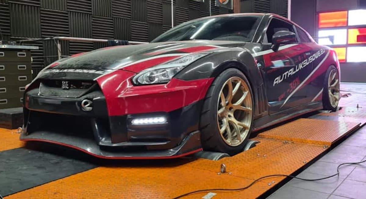 Nissan GT-R NISMO 2018 Projekt