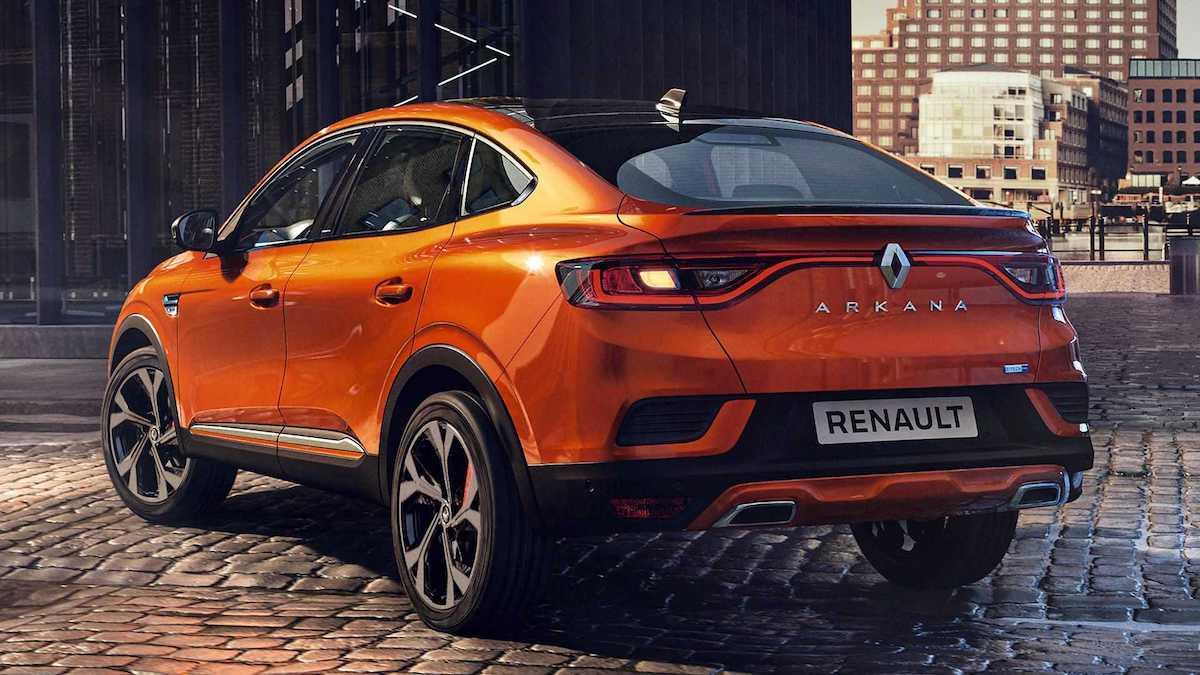Renault Arkana (2020), tył