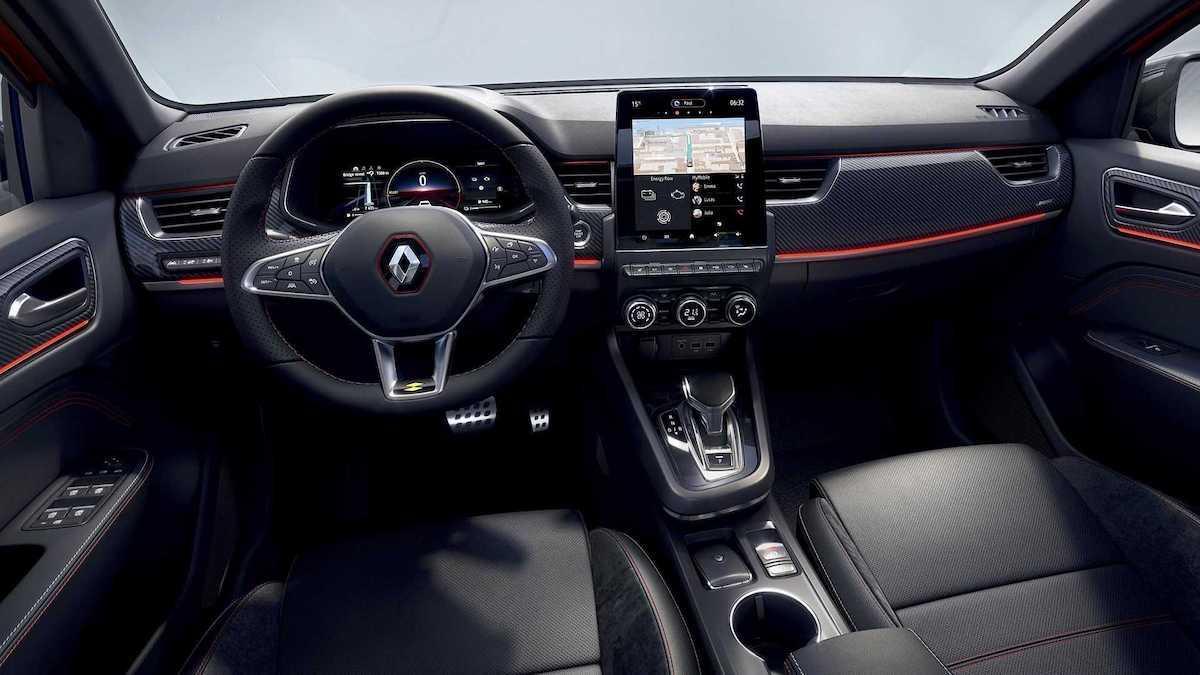 Renault Arkana (2020), wnętrze
