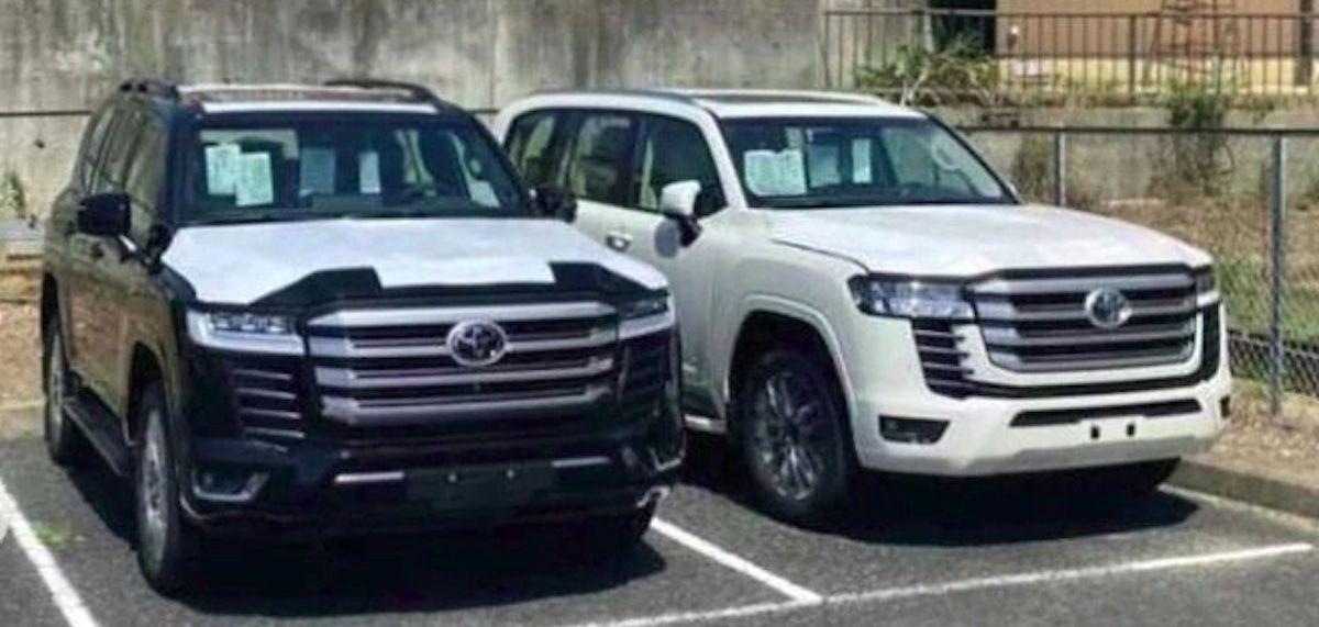 Toyota Land Cruiser (2021) bez kamuflażu, przód