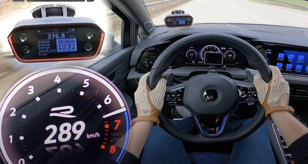 Volkswagen Golf 8 R, prędkość maksymalna