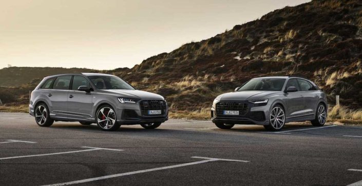 2022 Audi Q7 Audi Q8 S-Line Competition Plus