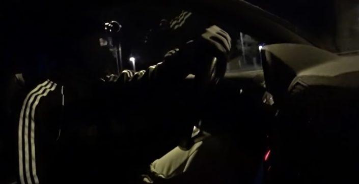 Audi RS4 B7 pościg