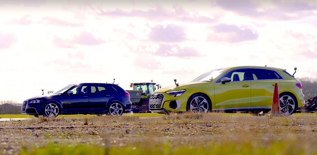 Audi S3 8Y vs Audi RS3 8P