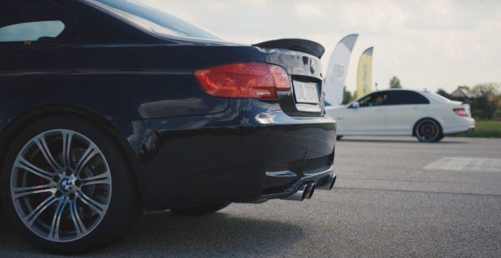 BMW M3 e92 vs Mercedes C63 AMG W204