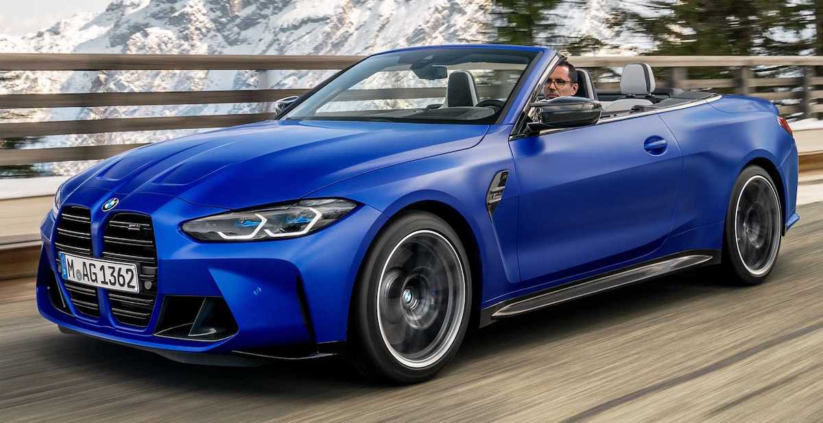 BMW M4 Competition xDrive Convertible