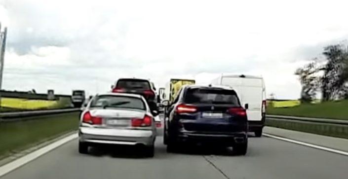 BMW X5 autostrada A4