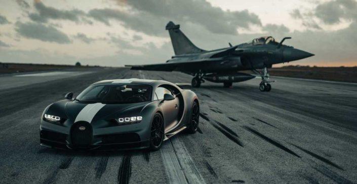 Bugatti Chiron Pur Sport Les Légendes du Ciel