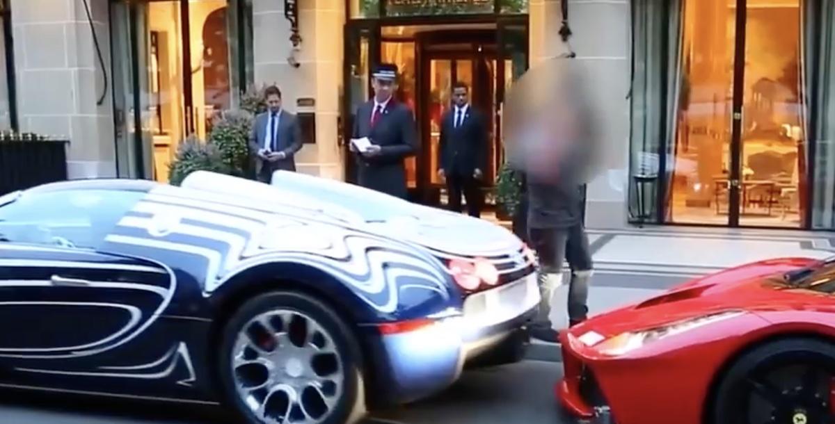 Bugatti Veyron L'Or Blanc Ferrari LaFerrari