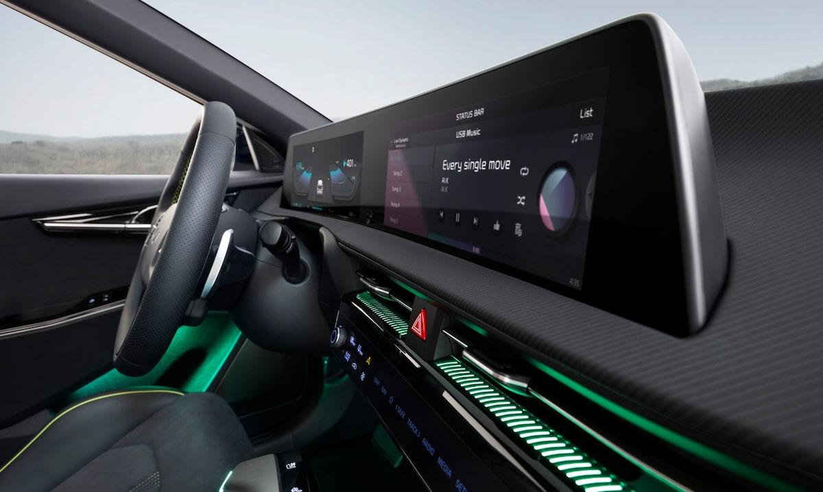 Kia EV6 GT (2021), wnętrze