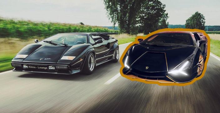 Lamborghini Countach Sian