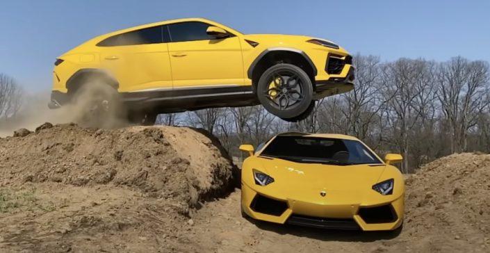 Lamborghini Urus Lamborghini Aventador