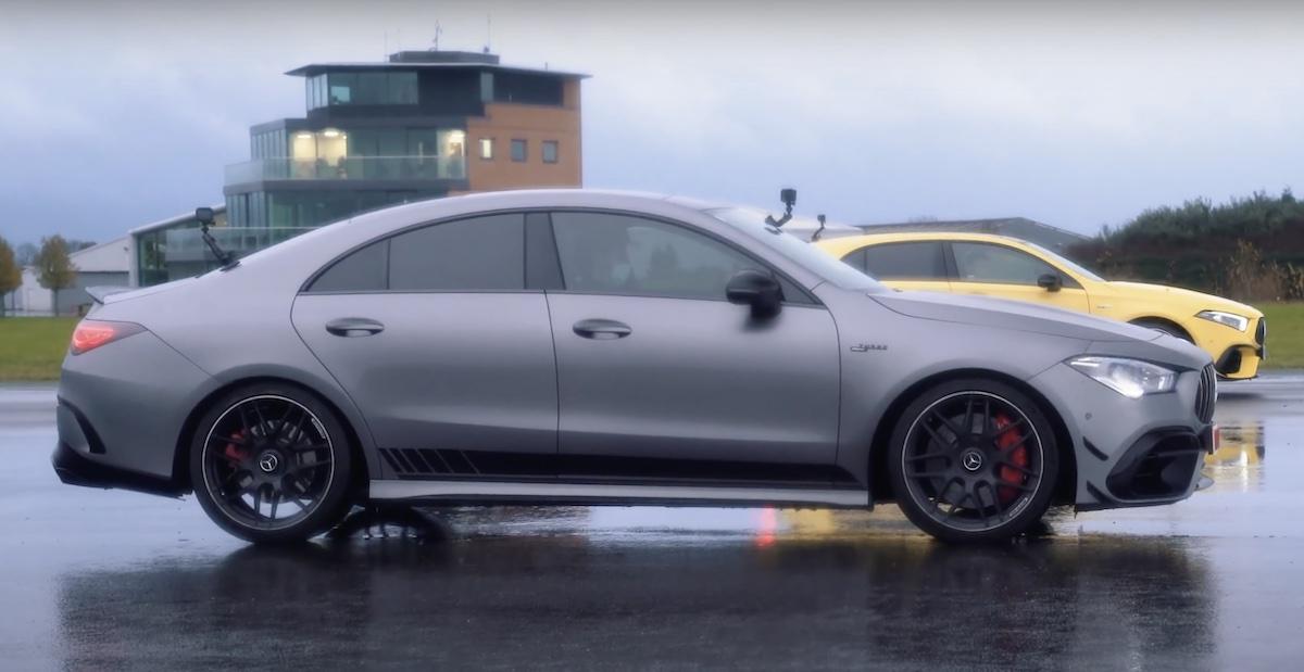 Mercedes-AMG CLA 45 S 4MATIC+ vs Mercedes-AMG A45 S 4MATIC+