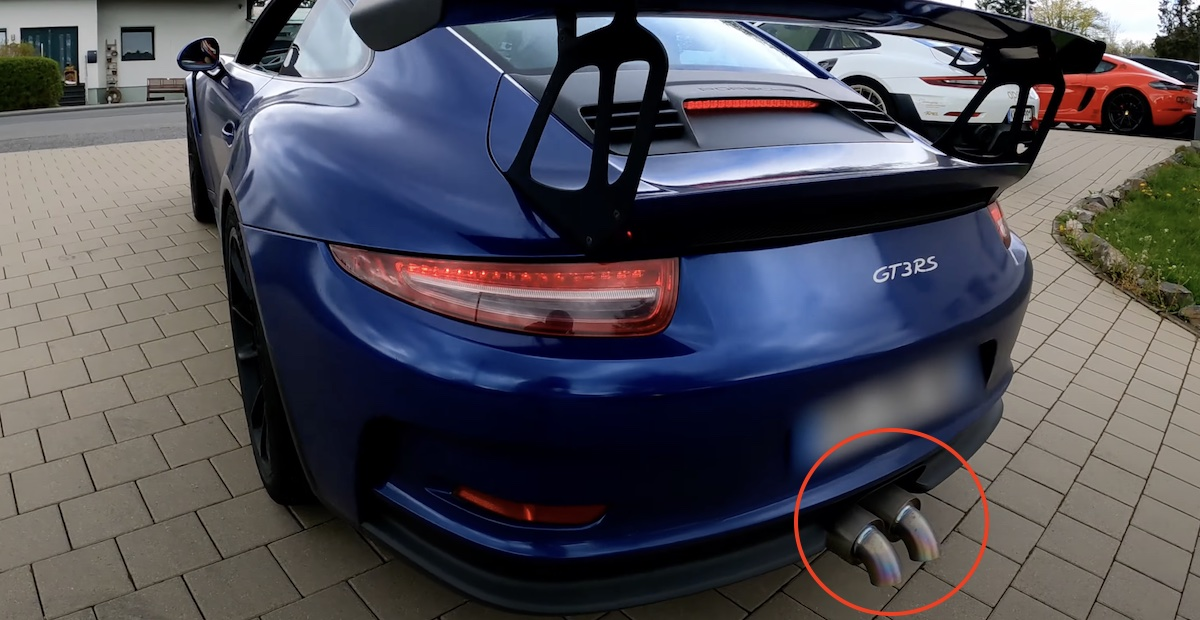 Porsche 911 GT3 RS 991 JCR