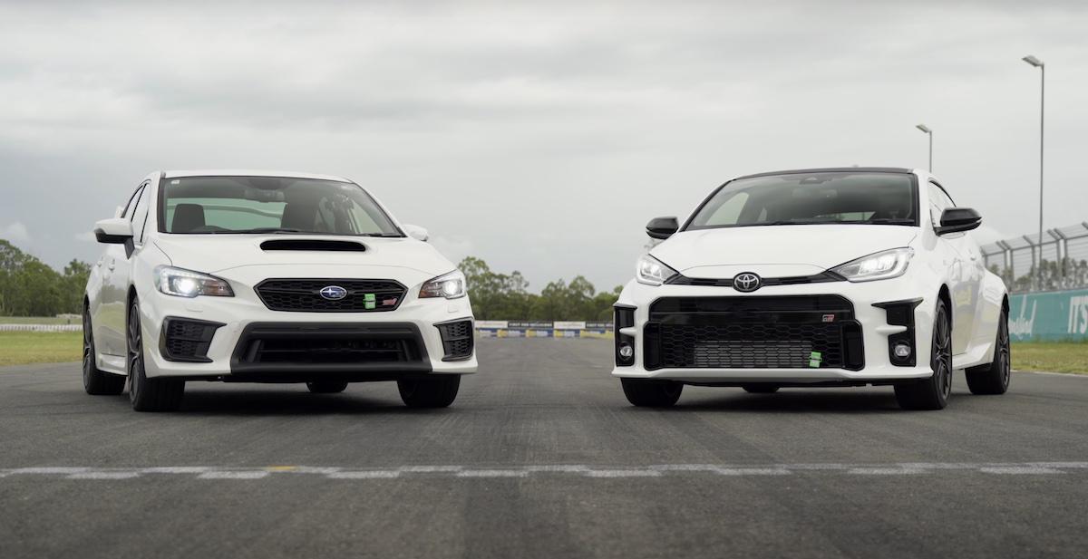 Subaru Impreza WRX STi vs Toyota GR Yaris