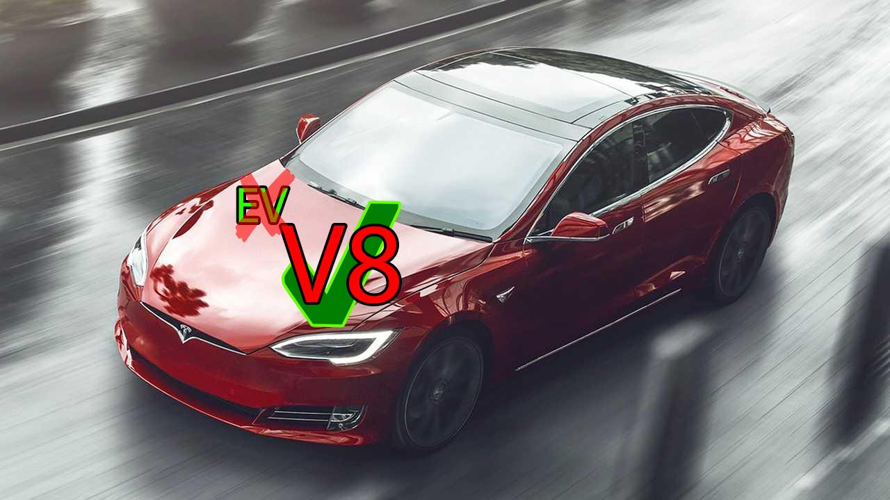 Tesla Model S V8