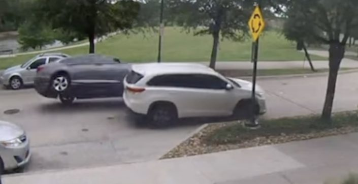 Toyota Highlander dachowanie