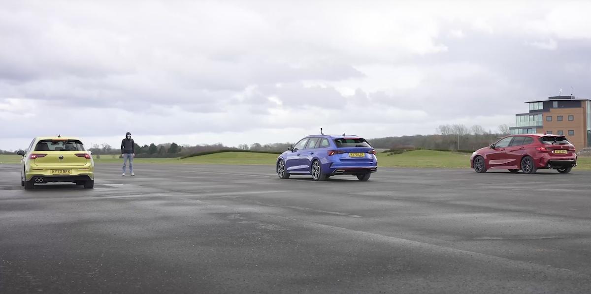 Volkswagen Golf GTD vs Skoda Octavia VRS vs BMW 120d
