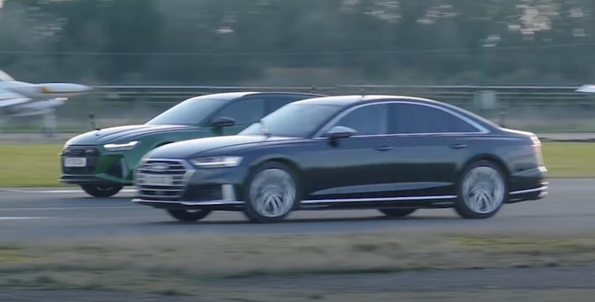 2020 Audi RS6 vs 2020 Audi S8