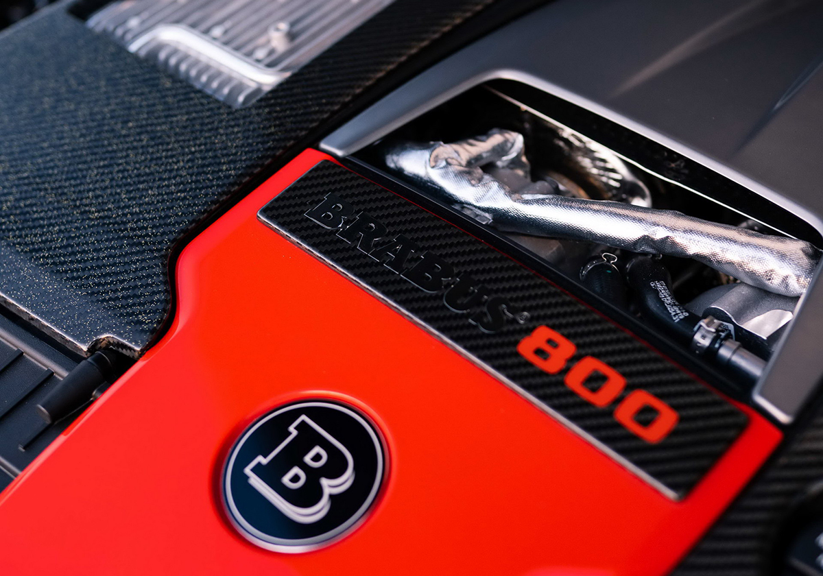 Mercedes- AMG E63 S 4MATIC+ Brabus 800