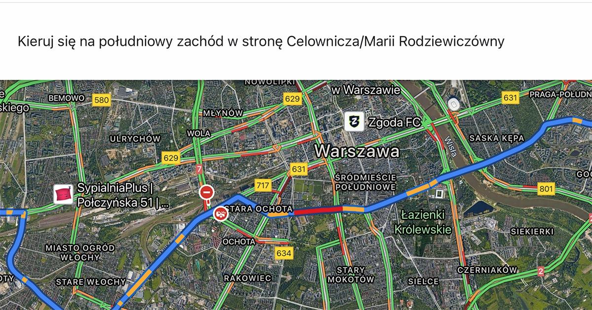 Mapy Google aktualizacja iOS