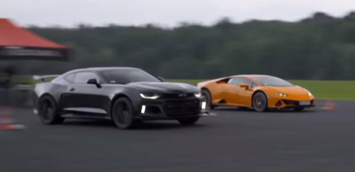 Lamborghini Huracan Evo vs Chevrolet Camaro ZL1