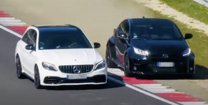 Mercedes-AMG vs. Toyota GR Yaris