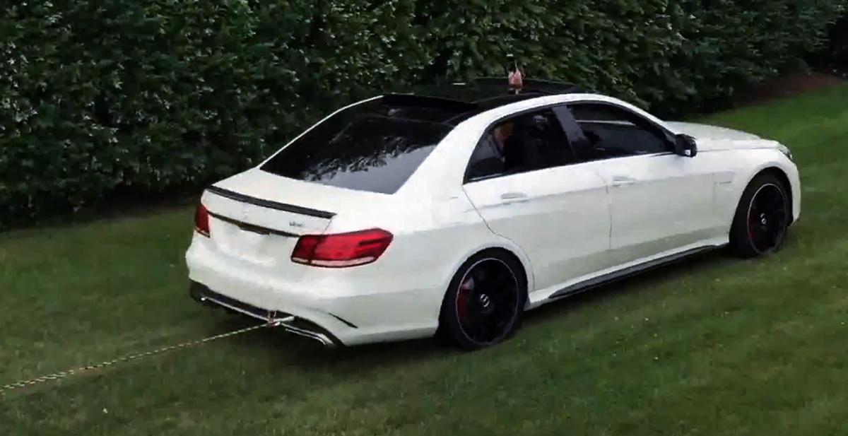Mercedes E63 AMG w213 Weistec