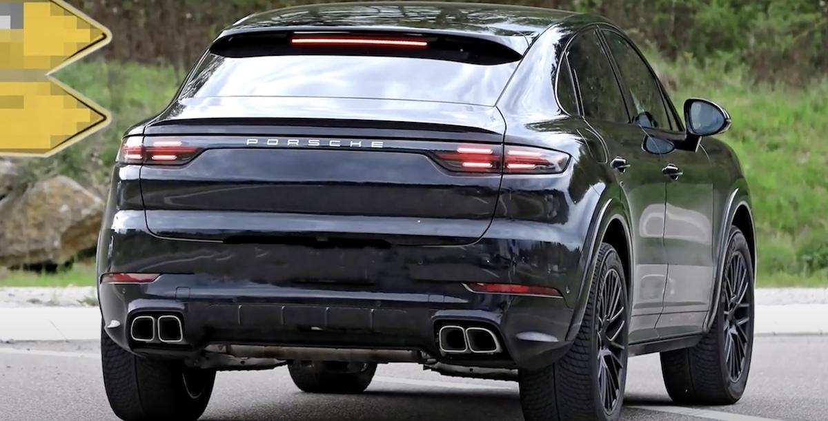 Porsche Cayenne Coupe lifting (2022), tył